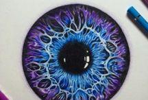 Güzel göz çizimleri