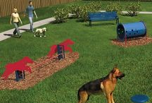 "Dog Park Equipment / We can help you plan a dog park that's just right for your facility. Start with a complete dog park or allow us to help you create a ""Dog Park"" plan that works for all! www.petandplayground.com"