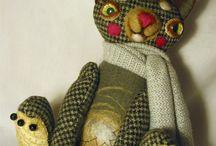 мое кошачье царство / авторские игрушки коты