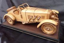TOP AUTO-MODELLE aus Holz