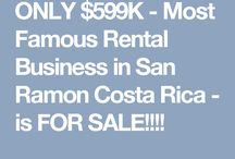 FOR SALE: Houses, Lots and Investment Properties for Sale in Costa Rica / Looking for a unique property in San Ramon Costa Rica or any of the mountain towns in the Central Valley?  Check some of our favorites right here.