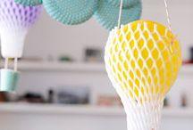 party theme hot air ballon