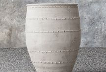 rustic vases + jars.