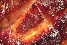 Coca cola glazed ham.
