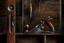 Old tools -on display.
