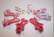 hair bows. accessory row / by Melissa Rose