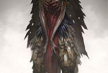 démons humanoïdes