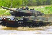 Modern army vehicles