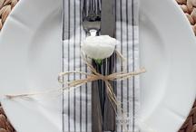 Сервировка стола / Как правильно поставить  на стол столовые приборы