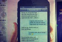 Mig og Danielle <3 / Dansk - god humor