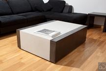 Réalisation AD Mobilier / Concrete Furniture / Mobilier en béton ciré