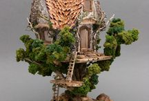 Treehouse dolls house for May