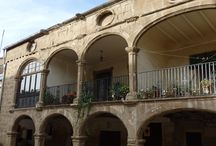 Catalunya: Agramunt (Urgell). Catalonia. Lleida / Casco antiguo de la villa medieval de Agramunt, capital del turrón y del chocolate en Catalunya.