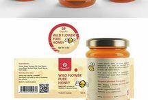 Honey Packaging Design -Honey Label