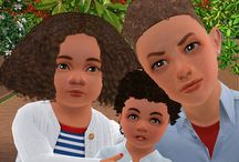 Coiffures Enfant et Bambin - Sims 3