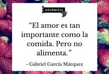 Frases de Cocina Gourmista / great quotes of famous people about food