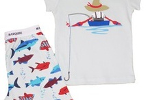 Marquise boys pyjamas for summer - super cute & colourful