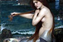 John William Waterhouse / A board devoted to the whimsical and mystical work of John William Waterhouse.