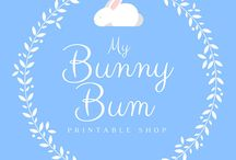 MyBunnyBum - Etsy Shop / Printable for your planner
