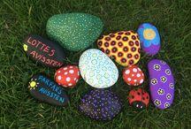 Mine egne malede sten