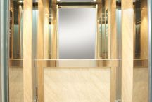 "Lift cabin with name ""IRIS"" / Technol elevator products"