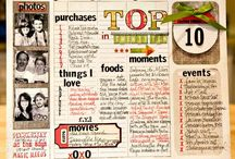Scrapbook Ideas / Working on getting those photos into scrapbooks. Free digital scrapbook items, inspiration and ideas.