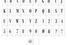 Maritza craill / Alphabet letters