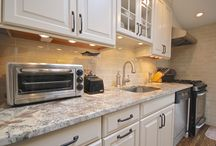 Kitchen Renovation in Jericho, NY / This kitchen was a project we completed for Lowes Home Improvement. We here at Premier Building are a Lowes Independent Contractor.