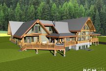 Dutch Mill - Project / Last Friday we had the great pleasure to meet our customers from #Franklinville NJ who flew in all the way from the East coast to discuss final changes to their fusion style log home! #architects #loghomedesigner #dreamhouse