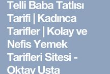 ŞERBETLİ TATLILAR