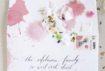 Envelopes decoration