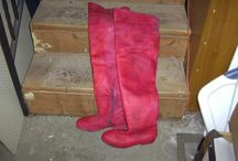 Leather - Dyeing / Re-colouring