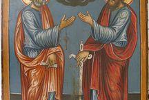 petru și pavel icons