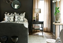 Dark and Moody / A curated collection of Dark and Moody spaces by Christine Elliott Designs.