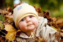 Baby autumn photo