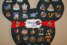 Disney pins / WE LOVE DISNEY.PINS ARE NEAT. / by Donna Gallup