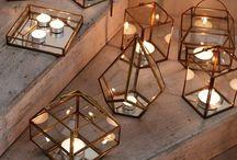* Candles & lanterns *