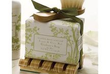 TAKE ME TO YOUR GARDEN / All things grow with love. Putting your heart and soul into your garden can take a toll on your hands. Gianna Rose comes to the rescue with a collection of gardener's soaps for those who love to tend the soil.