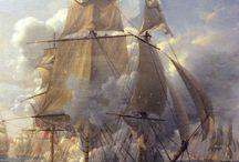 XVII-XIX Century Warships