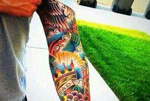 tatuagens coloridas