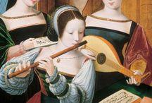 Concerts art / Concertos na Pintura