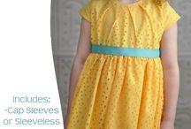 kids' clothing sewing patterns and tutorials / by Dixie Jarman