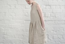 Linen jurk