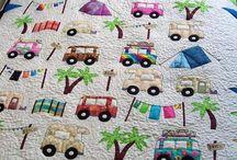 caravan camping quilt