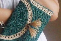 ^**^Crochet bags, purses