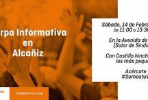 Carpas Informativas C's Alcañiz / Ciudadanos Alcañiz, agrupación de C's Aragón quiere acercarse a la ciudadanía a pie de calle, conocer sus inquietudes y sus reivindicaciones. Carpas Informativas y mesas informativas de nuestros proyectos para los ciudadanos