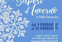 Sapori d'Inverno, rassegna gastronomica della Valle Camonica (BS)