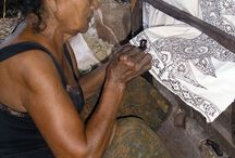 Batik with Threads of Life in Indonesia
