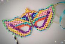 Hama Carnaval Mardi Gras Perler Beads