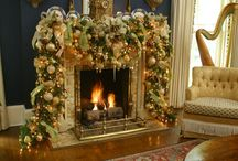My dream Mantle/Decorations / by Candace Thomas